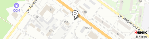У дяди Паши на карте Ярославля