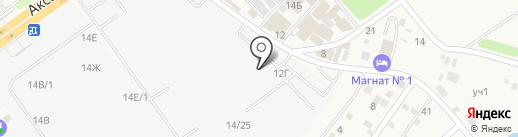 Магазин керамической плитки на карте Аксая