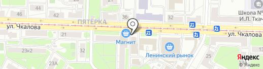 Птенчики-Младенчики на карте Ярославля