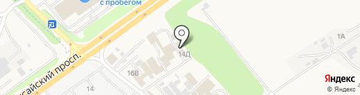 Интерком-К на карте Аксая