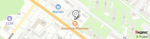 Немра на карте Ярославля