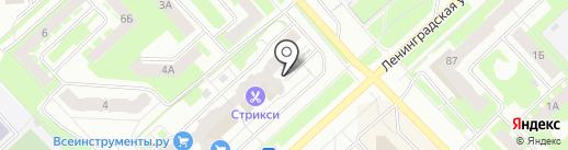 Каприз на карте Вологды