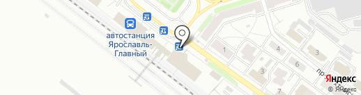 Аксиома на карте Ярославля