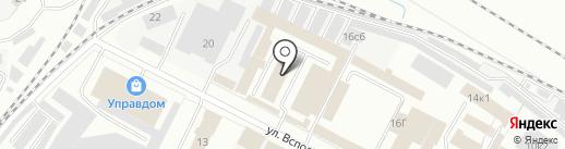 Ойл Сити на карте Ярославля