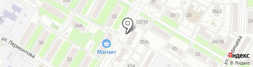 Теплоресурс на карте Ярославля