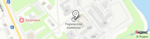 Пром-Арсенал на карте Ярославля