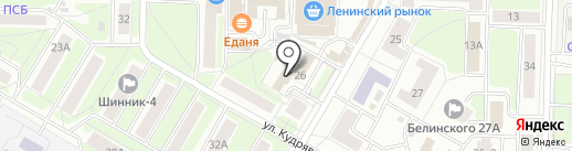 Ярославский Центр Бронирования на карте Ярославля