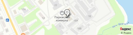 Пром-Строп на карте Ярославля