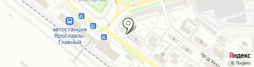 Гастроном на карте Ярославля