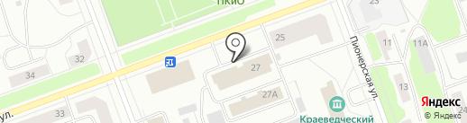 Почтовое отделение связи №20 на карте Северодвинска