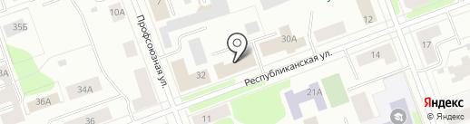 Региональное Управление ФСБ РФ по Архангельской области на карте Северодвинска