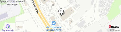 ПРОМЕТ-Ярославль на карте Ярославля