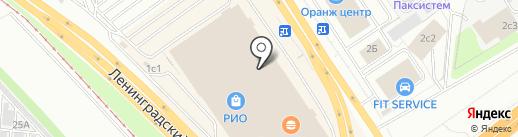 Русский пуховик на карте Ярославля