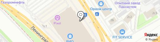 СонВажен на карте Ярославля