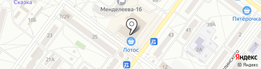 Симка на карте Ярославля