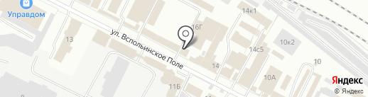 Кобра на карте Ярославля