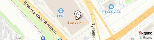 Легкий шаг на карте Ярославля