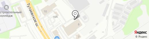 Мехуборка на карте Ярославля