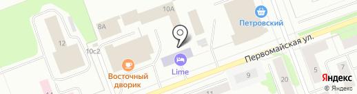 Северодвинское местное отделение ДОСААФ России на карте Северодвинска