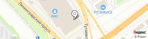 Студия ДС на карте Ярославля