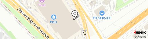 Золотое Руно на карте Ярославля