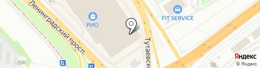 Магазин чулочно-носочных изделий на карте Ярославля