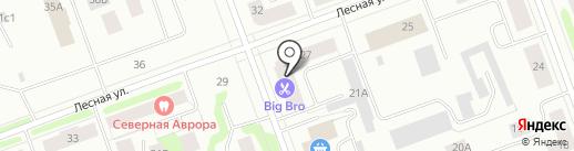 Твой букет на карте Северодвинска