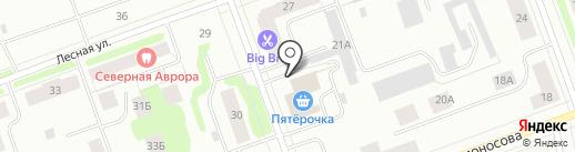 Росгосстрах банк, ПАО на карте Северодвинска