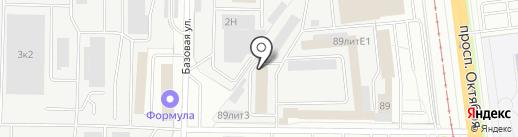 Веста на карте Ярославля