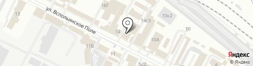 Дом Малера на карте Ярославля
