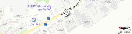 MA7K1N TEAM на карте Ростова-на-Дону