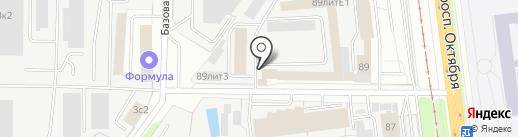 ТЕХНО ЛИГА на карте Ярославля