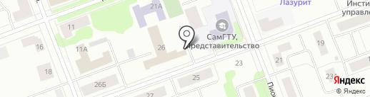 Отдел МВД России по г. Северодвинску на карте Северодвинска