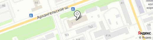 Спецэлектромонтаж 82 на карте Северодвинска