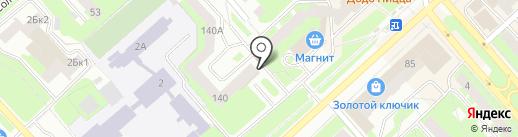Пивков на карте Вологды
