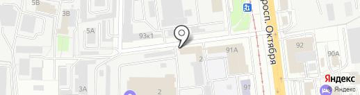 РемМотус на карте Ярославля