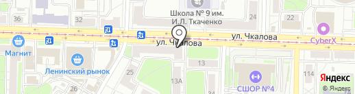 Территория Интерьера на карте Ярославля