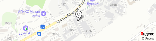 Министерство Активного Отдыха на карте Ростова-на-Дону