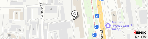 КвадроКом на карте Ярославля