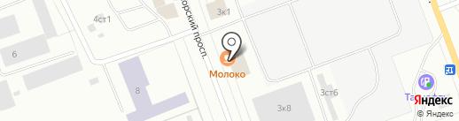 СевМетПром на карте Северодвинска