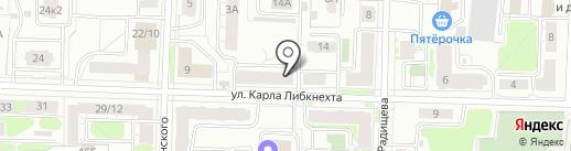 Фактор на карте Ярославля