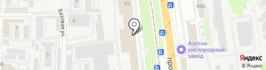 MST на карте Ярославля