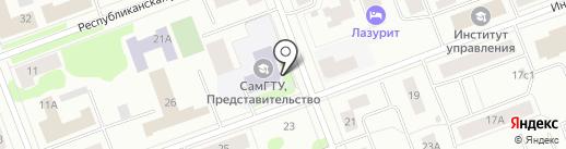 Санкт-Петербургский институт внешнеэкономических связей, экономики и права на карте Северодвинска