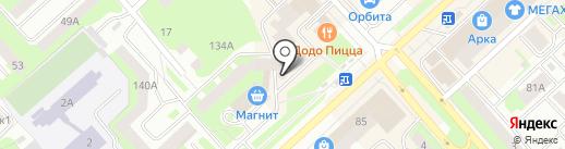 Банкомат, Сбербанк, ПАО на карте Вологды