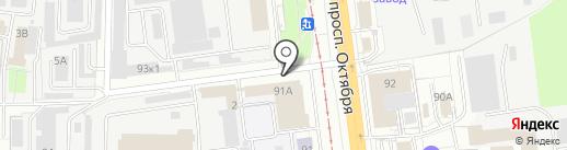 ТехноРегион на карте Ярославля