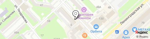 Магнит-Косметик на карте Вологды