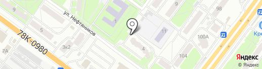Хрономедикс на карте Ярославля