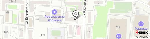 LUYS на карте Ярославля