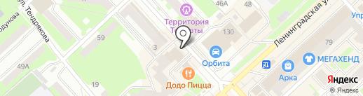 Техметстрой на карте Вологды