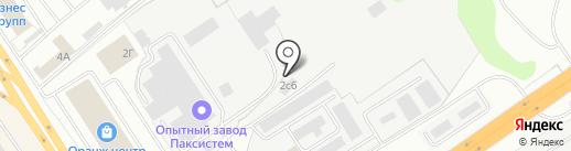 Газовозофф на карте Ярославля